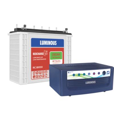 Luminous 1050va Inverter With Battery 150ah Tubular Battery