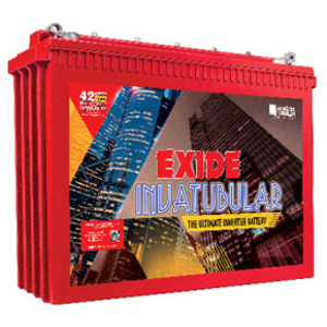 Exide It 750 200 Ah Tall Tubular Battery Inva Tubular