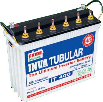 Exide It 400 115ah Tall Tubular Battery Inva Tubular Battery