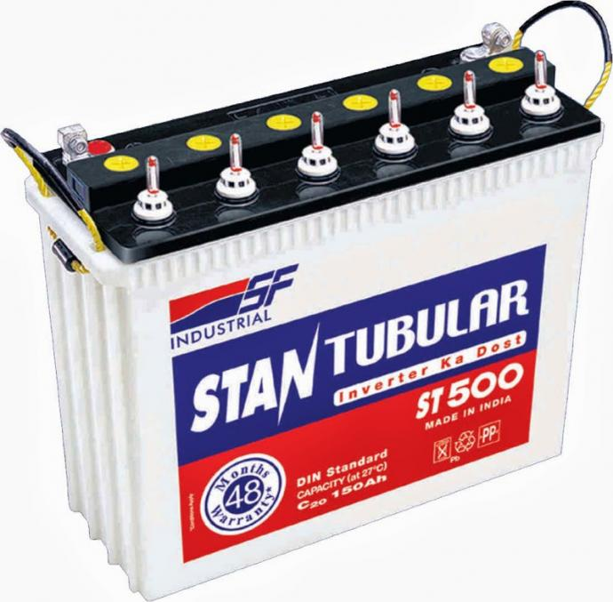 Sf Sonic St500 150ah Tall Tubular Battery