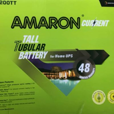 Amaron 200AH Tall Tubular Battery