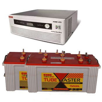 Exide Tube Master TM500L 150AH Tubular Battery