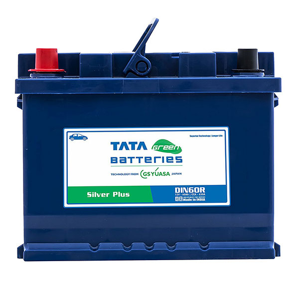 Tata Green Din60r Silver Plus Car Battery