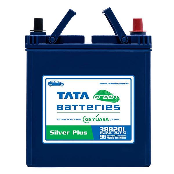 Tata Green 38b20l Silver Plus Car Battery