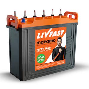 Livfast Maxximo Mxtt 1848 150 Ah Battery