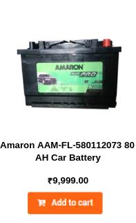 Amaron AAM-FL-580112073 80 AH Car Battery