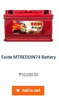 Exide MRDIN 65LH