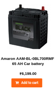 Amaron AAM-BL-0BL700RMF 65 AH Car battery