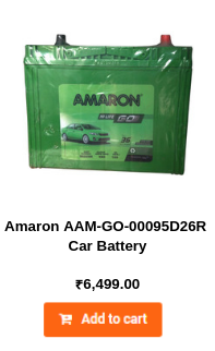 Amaron AAM-GO-00095D26R Car Battery